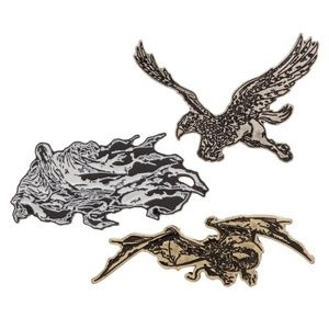 Harry Potter Creatures Pins Lapels Set Dementor